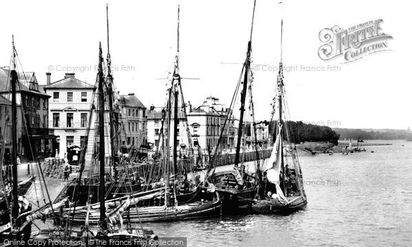 Photo of Bideford, the Quay 1890, ref. 24800