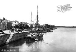 Bideford, The River Torridge 1907