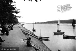 Bideford, The River Torridge 1919
