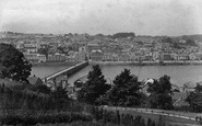 Bideford, Town And Bridge 1906