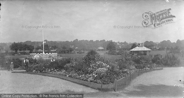 Bideford, Victoria Park 1907