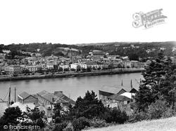 Bideford, View Across The River Torridge 1929