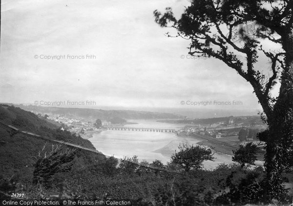 Bideford, View From South 1890