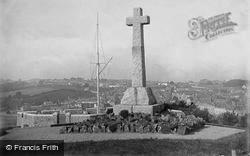 Bideford, War Memorial 1923