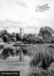 Bidford-on-Avon, Church From The River c.1930