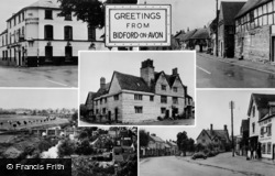 Bidford-on-Avon, Composite c.1955