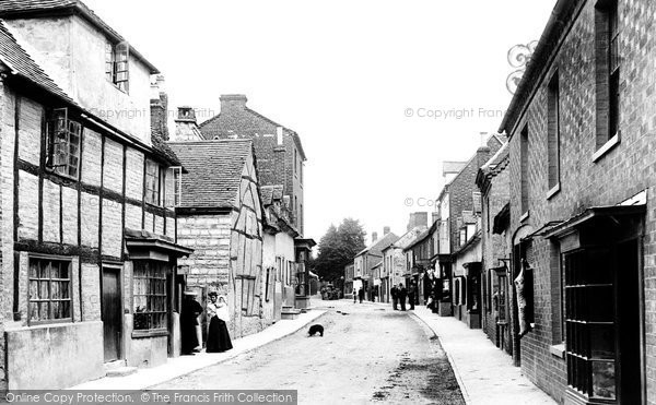 Bidford On Avon, High Street 1899