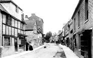 Bidford-on-Avon, High Street 1899