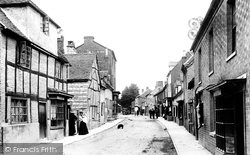 Bidford-on-Avon, High Street 1899