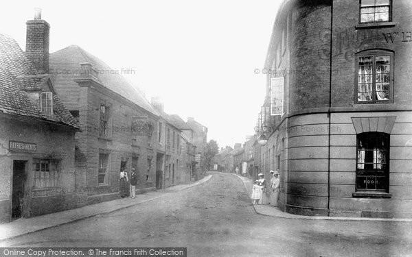 Bidford On Avon, High Street 1901
