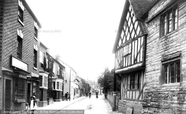 Bidford On Avon, High Street 1910