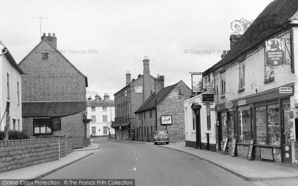 Bidford On Avon, High Street 1959