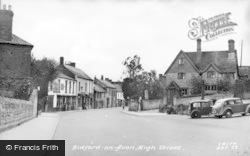 Bidford-on-Avon, High Street c.1955