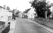 Bidford-on-Avon, High Street c1959