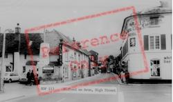 Bidford-on-Avon, High Street c.1965