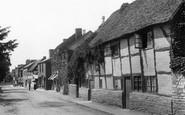 Bidford-on-Avon, Old Cottages 1899