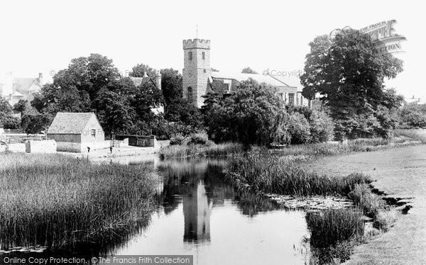Bidford On Avon, St Laurence's Church From The Bridge 1899