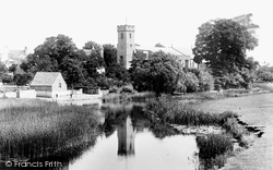 Bidford-on-Avon, St Laurence's Church From The Bridge 1899