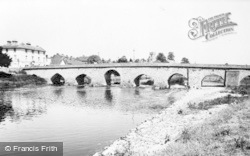 Bidford-on-Avon, The Bridge And River c.1955