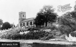 Bidford-on-Avon, The Church c.1955