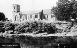Bidford-on-Avon, The Church c.1960