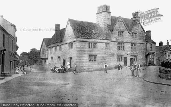 Bidford On Avon, The Old Falcon Inn 1901