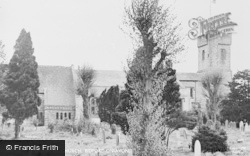 Bidford-on-Avon, The Parish Church c.1955