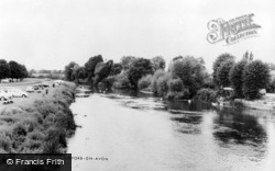 Bidford-on-Avon, The River Avon c.1960