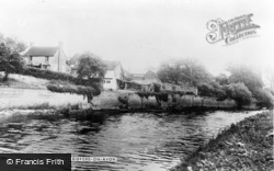 Bidford-on-Avon, The River c.1955