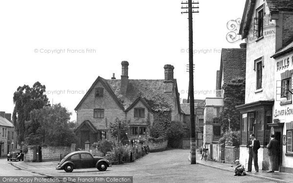 Photo of Bidford-on-Avon, the Village Shop c1955