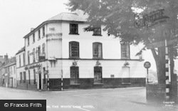 Bidford-on-Avon, The White Lion Hotel c.1950