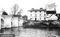 Bidford-on-Avon, The White Lion Hotel c.1955