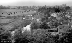 Bidford-on-Avon, View From The Church Tower c.1955