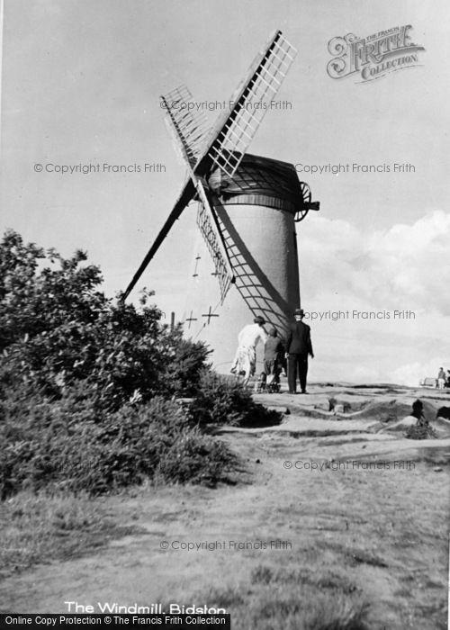 ,Bidston, The Windmill c.1950,
