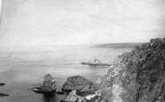 Bigbury-on-Sea, Bay 1890