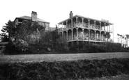 Bigbury-on-Sea, Bay Court Hotel from Lawn c1933