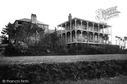 Bigbury-on-Sea, Bay Court Hotel From Lawn c.1933