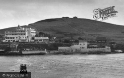 Bigbury-on-Sea, Burgh Island And The Pilchard Inn c.1959