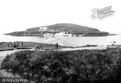 Bigbury-on-Sea, Burgh Island c.1935