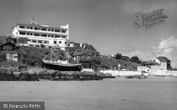 Bigbury-on-Sea, Burgh Island c.1961