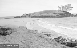 Bigbury-on-Sea, Burgh Island c.1963