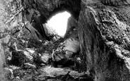 Bigbury-on-Sea, Burgh Island Cave 1925