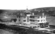 Bigbury-on-Sea, Burgh Island Hotel And The Mainland c.1933
