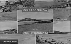 Composite c.1950, Bigbury-on-Sea