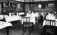 Bigbury-on-Sea, Dining Room, Bay Court Hotel c.1933