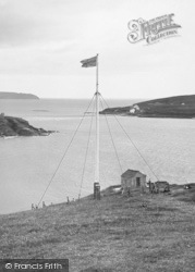 Bigbury-on-Sea, Flag, Bolt Tail 1925