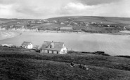 Bigbury-on-Sea, From Burgh Island 1924