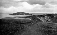 Bigbury-on-Sea, From Climaton Hill 1924