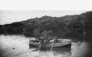 Bigbury-on-Sea, Lobster Catching c.1935