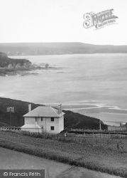Bigbury-on-Sea, Longstone Rock And Bolt Tail 1925